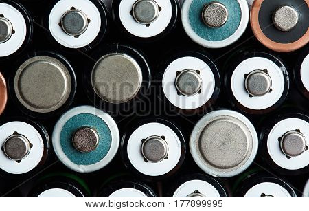 Mix Of Aa Size Batteries
