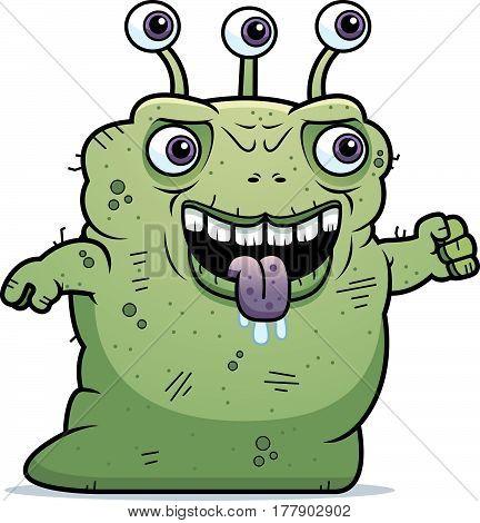 Ugly Alien Slithering