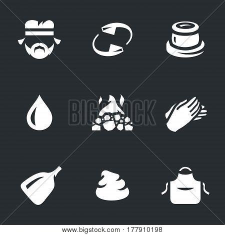 Artisan, rotation, pot, water, oven, molding, shovel, clay, apron.