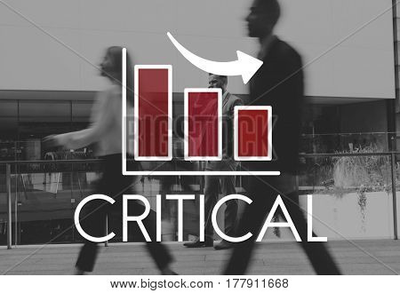 Bar Graph Business City Life Icon