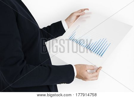 Business Chart Graphic Figure Data Analysis Growth
