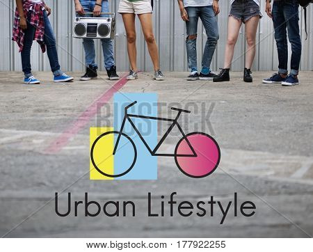 Urban Lifestyle Bicycle Healthy Transport
