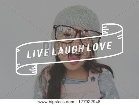 Live Laugh Love Adorable Happiness