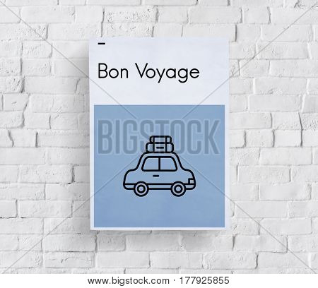 Adventure Bon Voyage Destination Icon