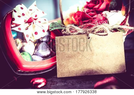 Happy Valentine and Sweetest day concept and Idea