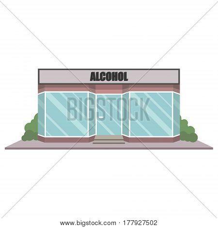 Alcohol Shop Facade