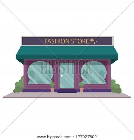 Boutique Building Facade