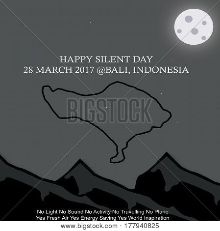 Happy Silent Day, Bali, Indonesia Inspiration For the World