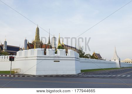 Emerald Buddha Temple View