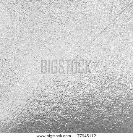 Silver rough foil, metallic grey shiny background