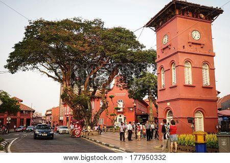 Dutch Square In Malacca, Malaysia