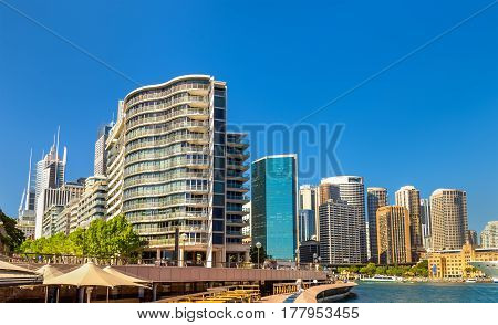 View of Sydney at Circular Quay, Australia