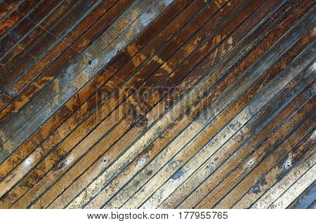 Old wooden planks texture. Abstract natural textured background.