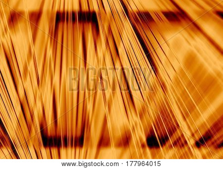 A dynamic horizontal gold light beams background
