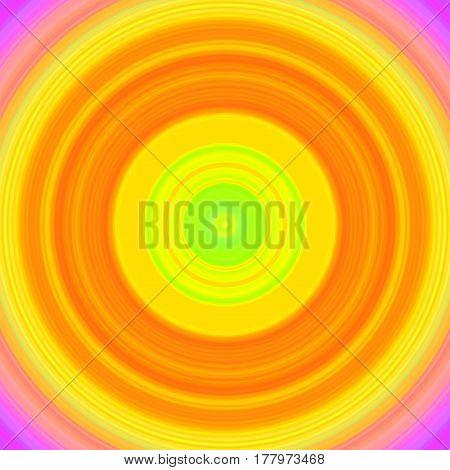 Circular Rgb Purple, Yellow, Green, Orange, Rainbow With Colors Gradient Background