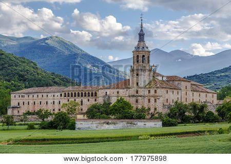 Monastery of Yuso San Millan de la Cogolla La Rioja Spain UNESCO World Heritage Site