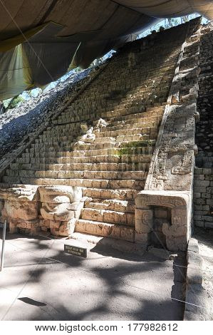 The Mayan Ruins Of Copan