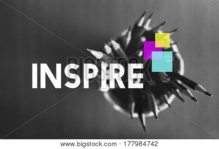 Be Inspired Inspiration Mindset Motivation Word