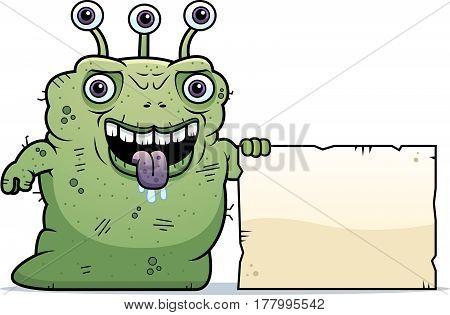 Ugly Alien Sign