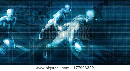 Disruptive Technology and Innovation as a Business Concept 3D Illustration Render