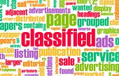 Classified Ads for Buy and Sell Services poster