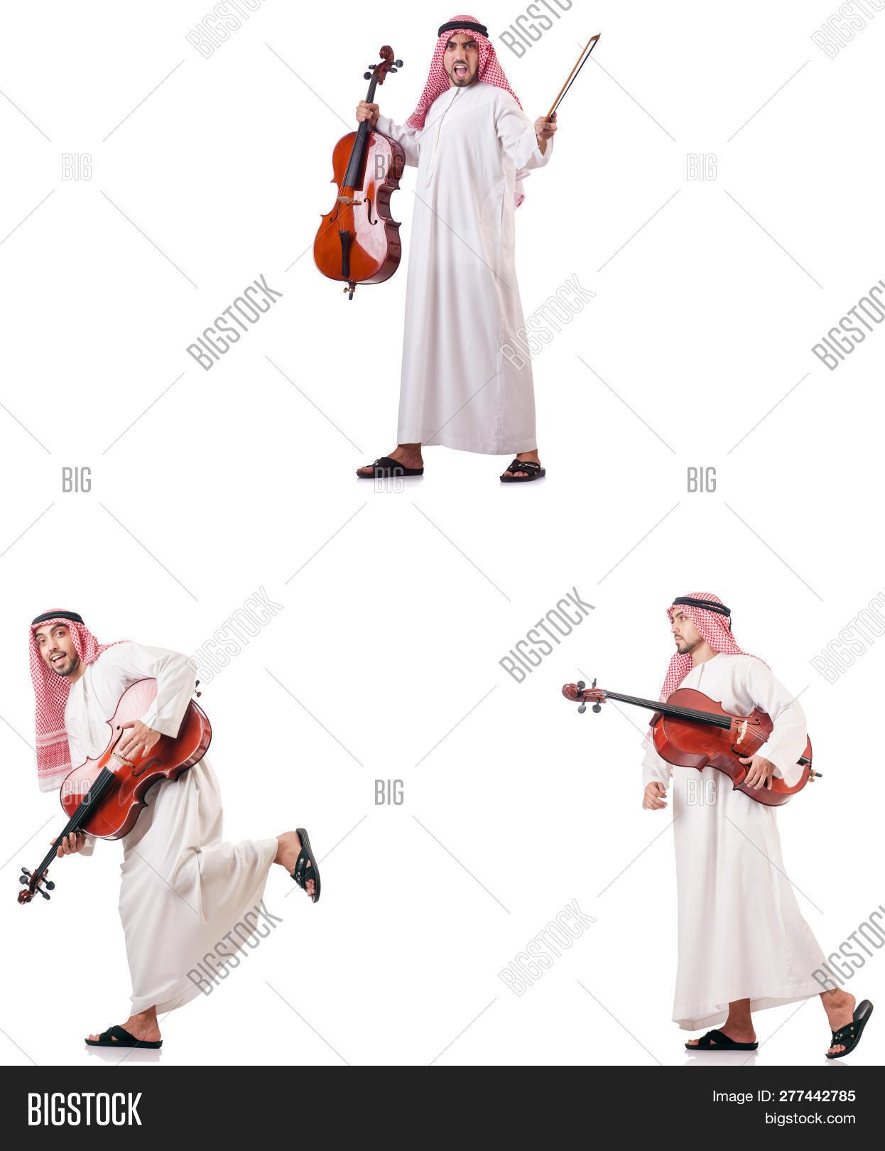 Arab Man Playing Cello Image & Photo (Free Trial) | Bigstock