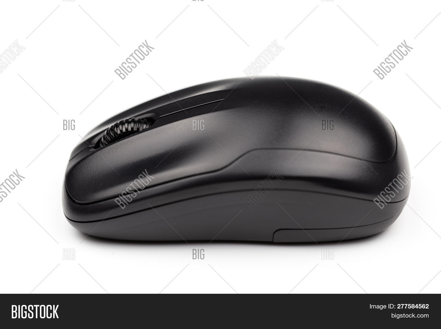 cd880975074 Computer Wireless Mouse Isolated On White Background For Design. Isolated  Background. Closeup Comput