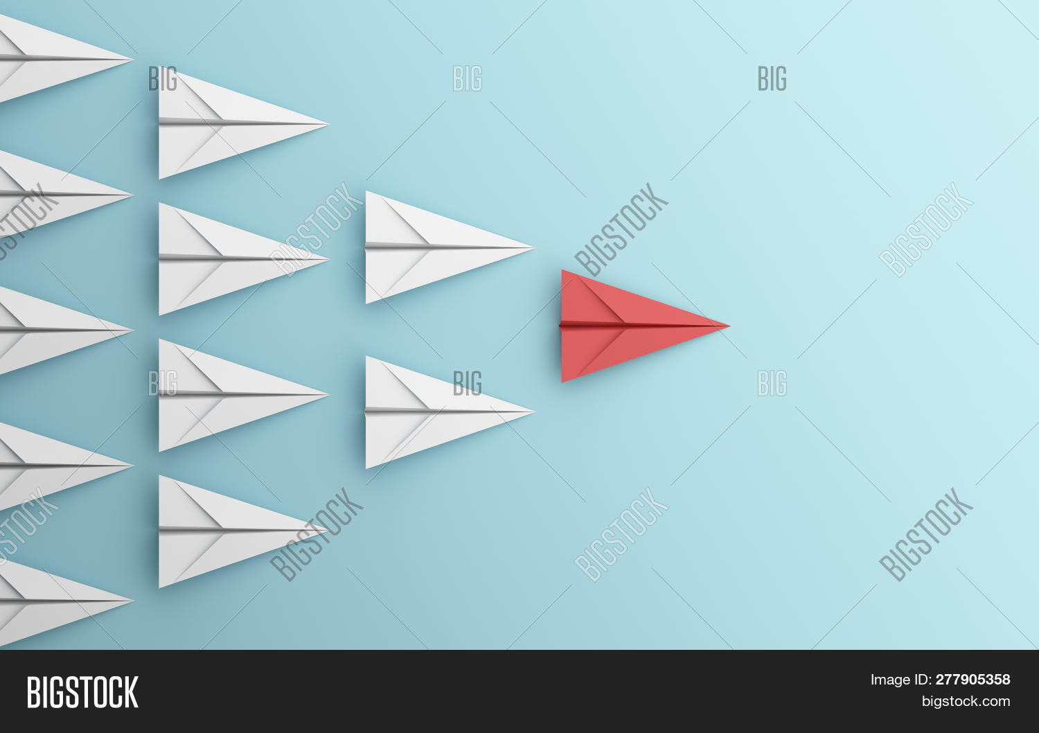 Leadership Different Image & Photo (Free Trial) | Bigstock