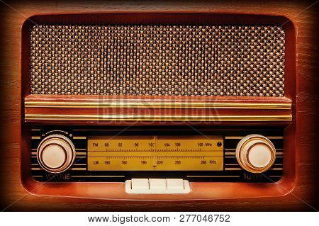 The Original Radio In Retro Vintage Style
