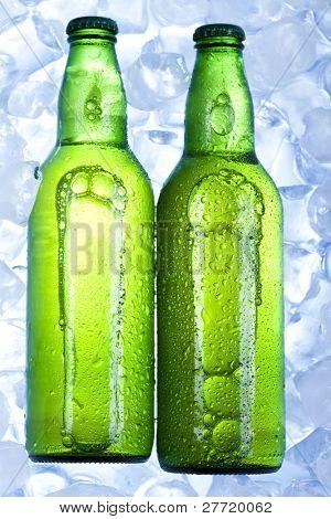 Brown bottle beer