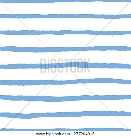 Tile Vector Pattern With Navy Blue And White Stripes