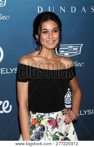 LOS ANGELES - JAN 5:  Emmanuelle Chriqui at the Art of Elysium 12th Annual HEAVEN Celebration at a Private Location on January 5, 2019 in Los Angeles, CA