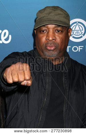 LOS ANGELES - JAN 5:  Chuck D, Carlton Douglas Ridenhour at the Art of Elysium 12th Annual HEAVEN Celebration at a Private Location on January 5, 2019 in Los Angeles, CA
