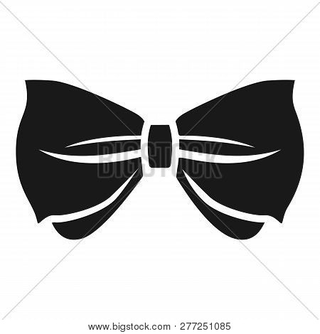 Man Bow Tie Icon. Simple Illustration Of Man Bow Tie Vector Icon For Web Design Isolated On White Ba
