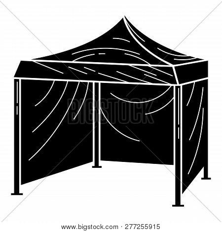 Commercial Tent Icon. Simple Illustration Of Commercial Tent Vector Icon For Web Design Isolated On