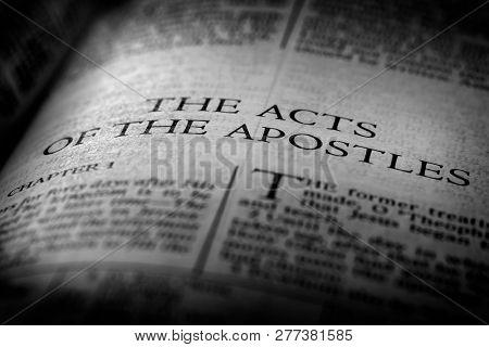 Bible New Testament Christian Teachings Gospel Acts of Apostles