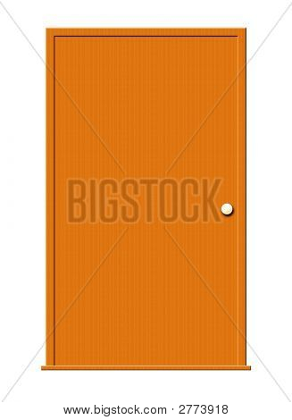 Wood Door With Window