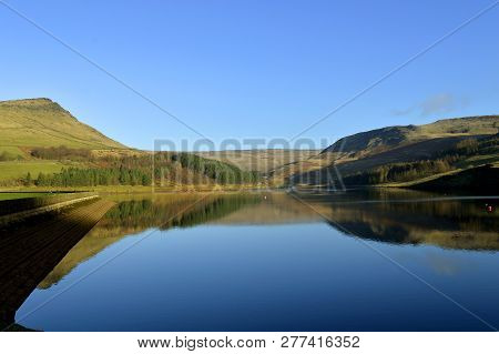 Dovestone Reservoir Lies Where The Valleys Of The Greenfield And Chew Brooks Converge Together Above