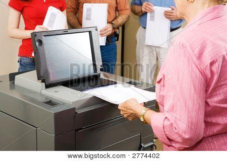Optical Scanner Voting