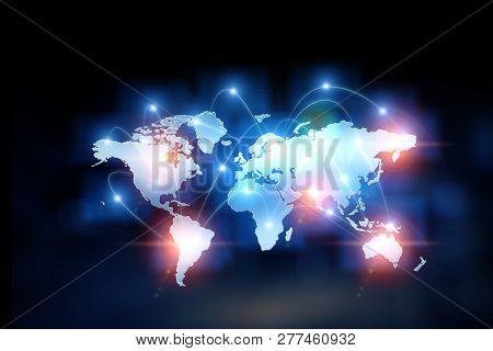 Innovative technology background