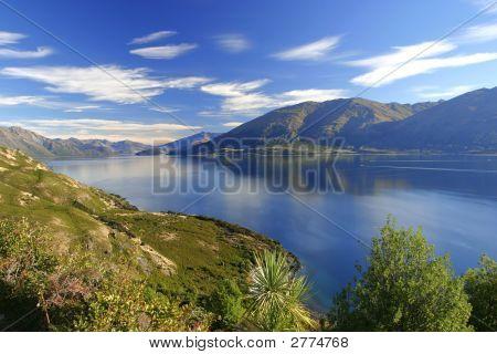 Lake Wananka, New Zealand