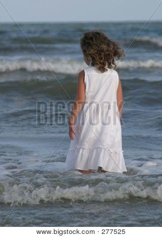 Girl In Water 1