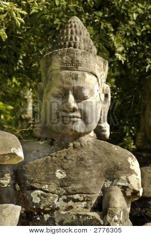 Southern Entrance To Angkor Thom, Cambodia