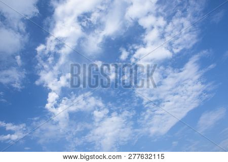 Clear Clouds On Sky - Sunny Day
