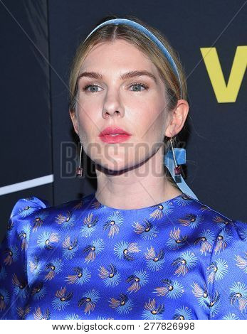 LOS ANGELES - DEC 11:  Lily Rabe arrives to