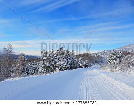 Landscape, Landscape, Roads, Path, Travel, Winter, Snow, Beauty, Cold, Ice