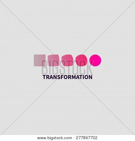 Logo Transform, Icon Change, Icon Growth, Symbol Training, Evolution, Business Development, Logo Edu