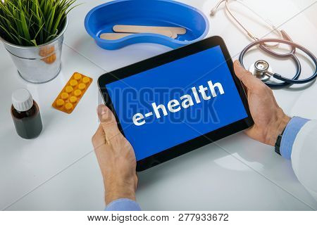 Ehealth - Online Communication Between Doctor And Patient