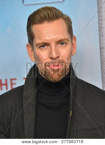 LOS ANGELES - JAN 10:  Shawn-Caulin Young arrives to HBO's 'True Detective' Season 3 Premiere  on January 10, 2019 in Hollywood, CA