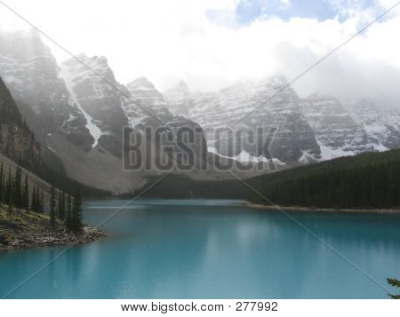 Ten Peaks And Moraine Lake - Banff National Park, Alberta, Canada